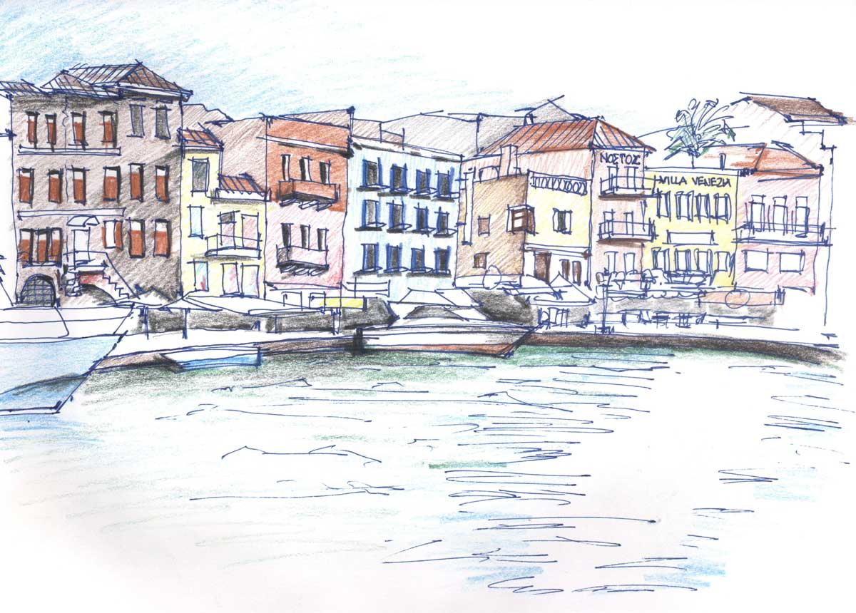 Contact US >> Greece Sketches